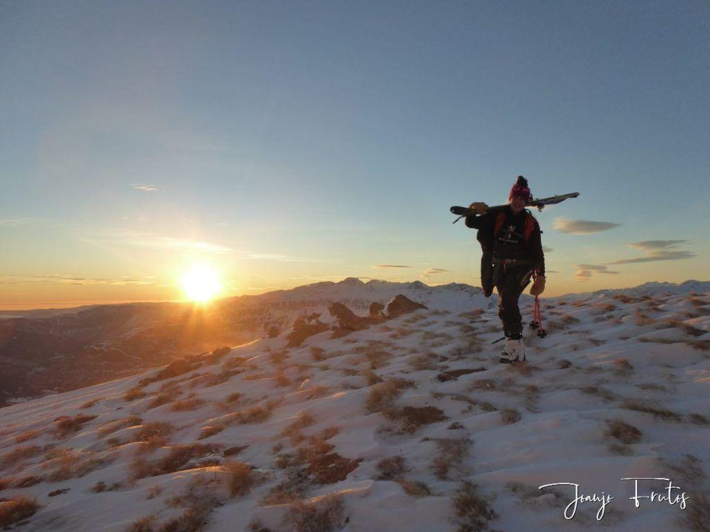 P1370121 1024x768 - Skimo jornada completa en Cerler