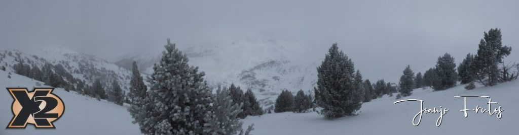 Panorama 2 2 1024x268 - Skimo y cacerolada Valle de Benasque.