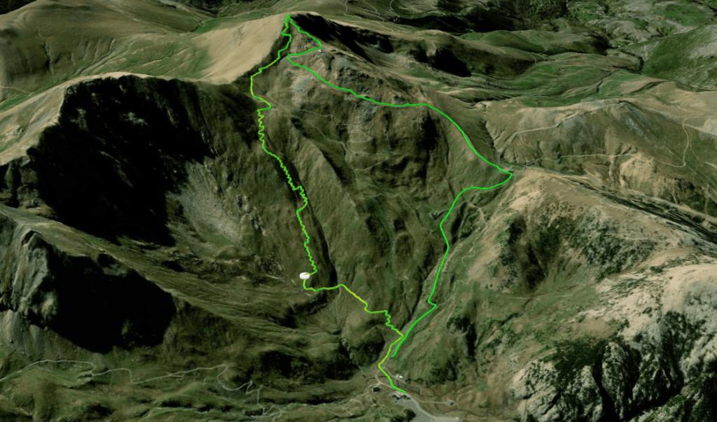 Captura de pantalla 2021 02 25 a las 16.07.24 1024x603 - Pico Gallinero desde Ampriu.