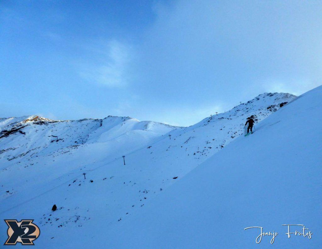 P1370586 1024x793 - Por la tarde más nieve en Cerler.