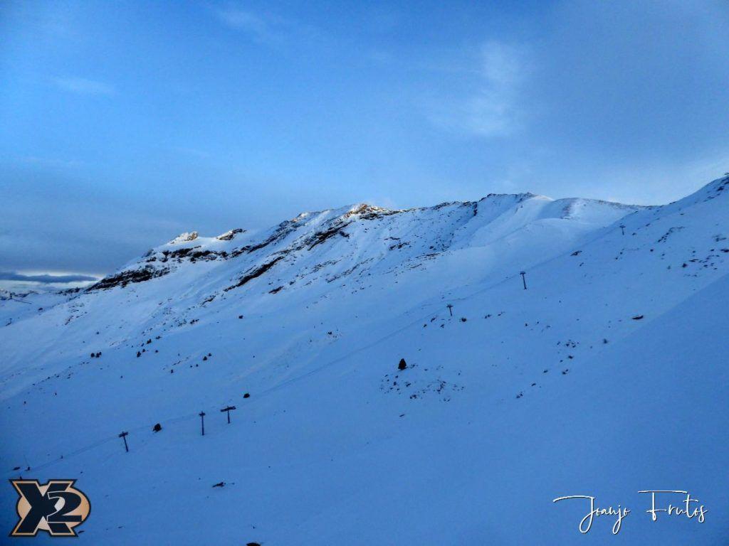 P1370587 1024x768 - Por la tarde más nieve en Cerler.