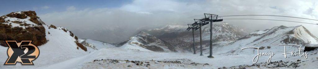 Panorama 1 4 1024x222 - Menudo marrón en Cerler.