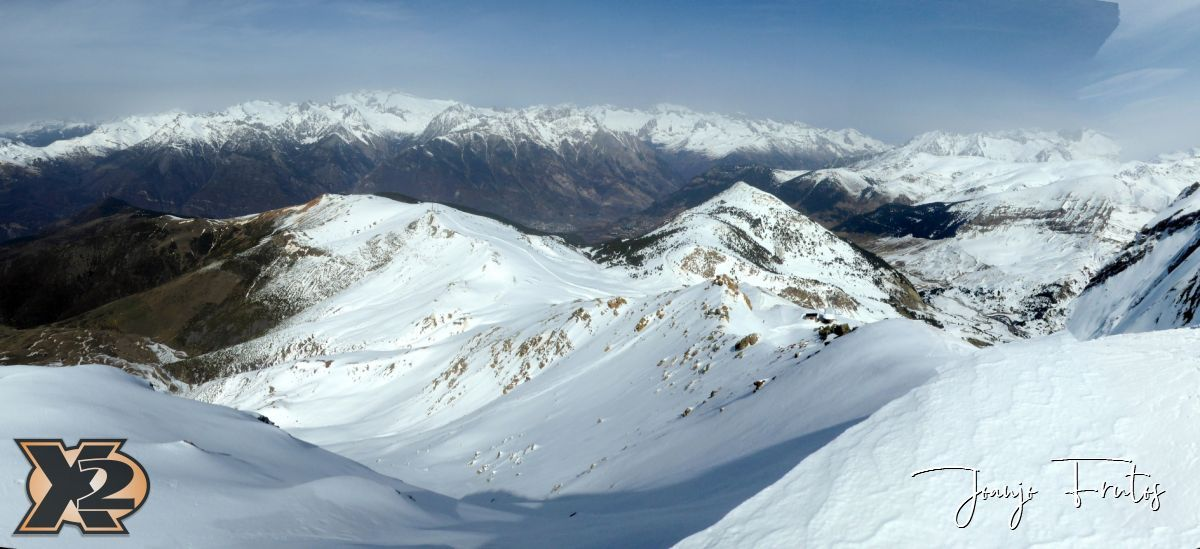 Panorama 2 4 - Pico Gallinero desde Ampriu.