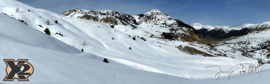 Panorama 4 1024x319 - Pico Gallinero desde Ampriu.