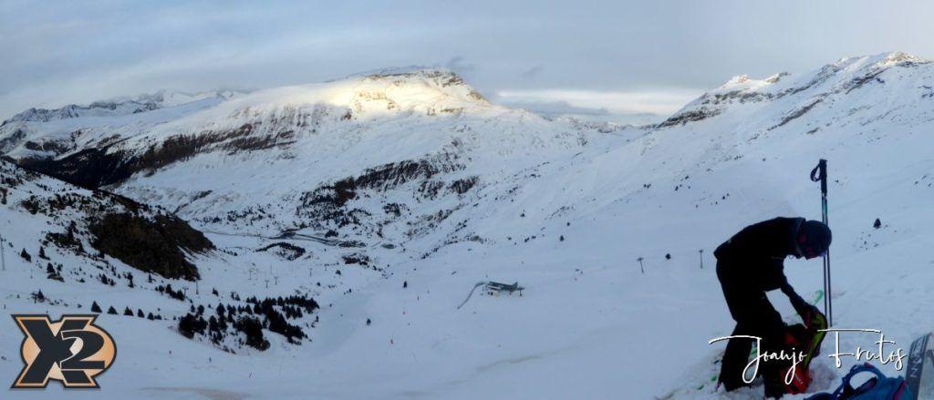 Panorama 5 1 1024x439 - Por la tarde más nieve en Cerler.