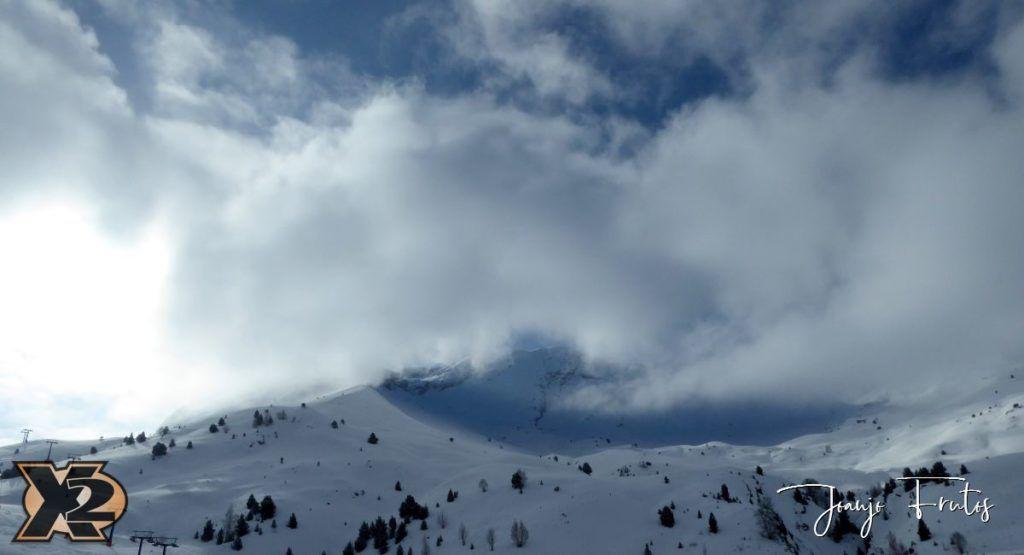 P1370785 1024x555 - Disfrutando la última nevada de Cerler