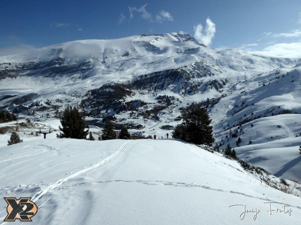 P1370793 1024x768 - Disfrutando la última nevada de Cerler