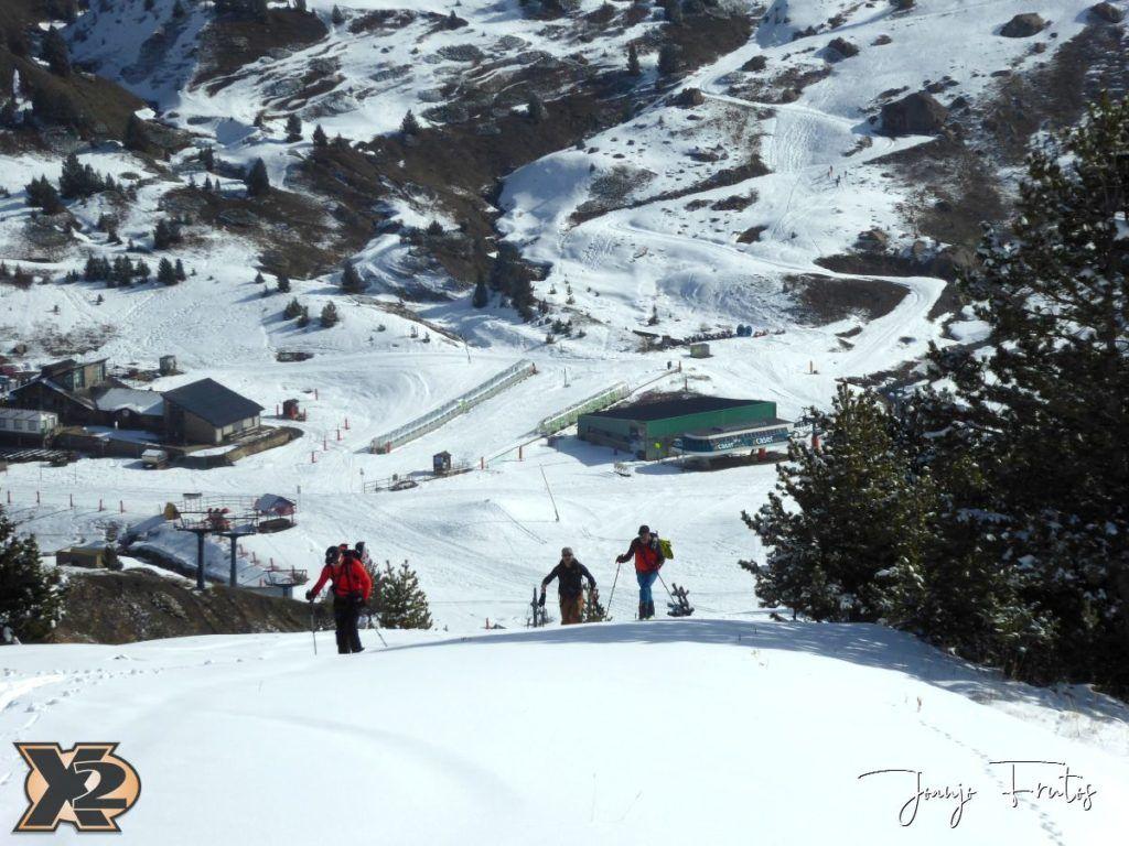 P1370797 1024x768 - Disfrutando la última nevada de Cerler