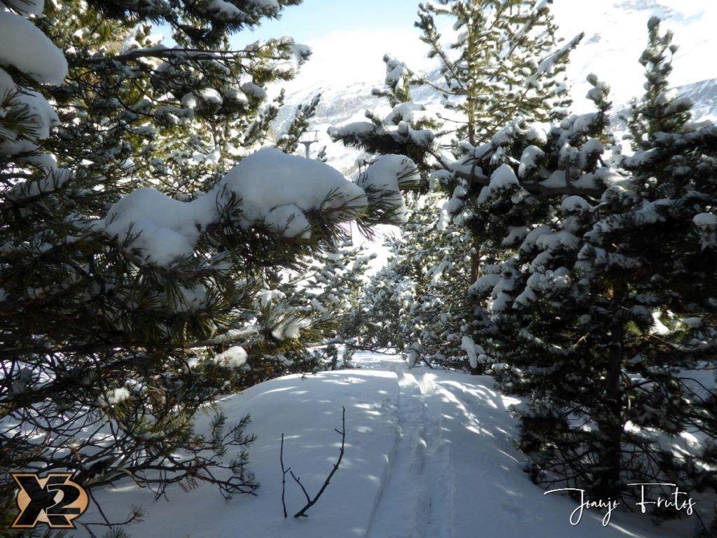 P1370799 1024x768 - Disfrutando la última nevada de Cerler