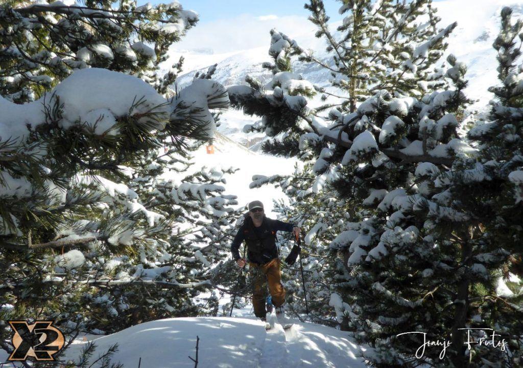 P1370802 1024x721 - Disfrutando la última nevada de Cerler