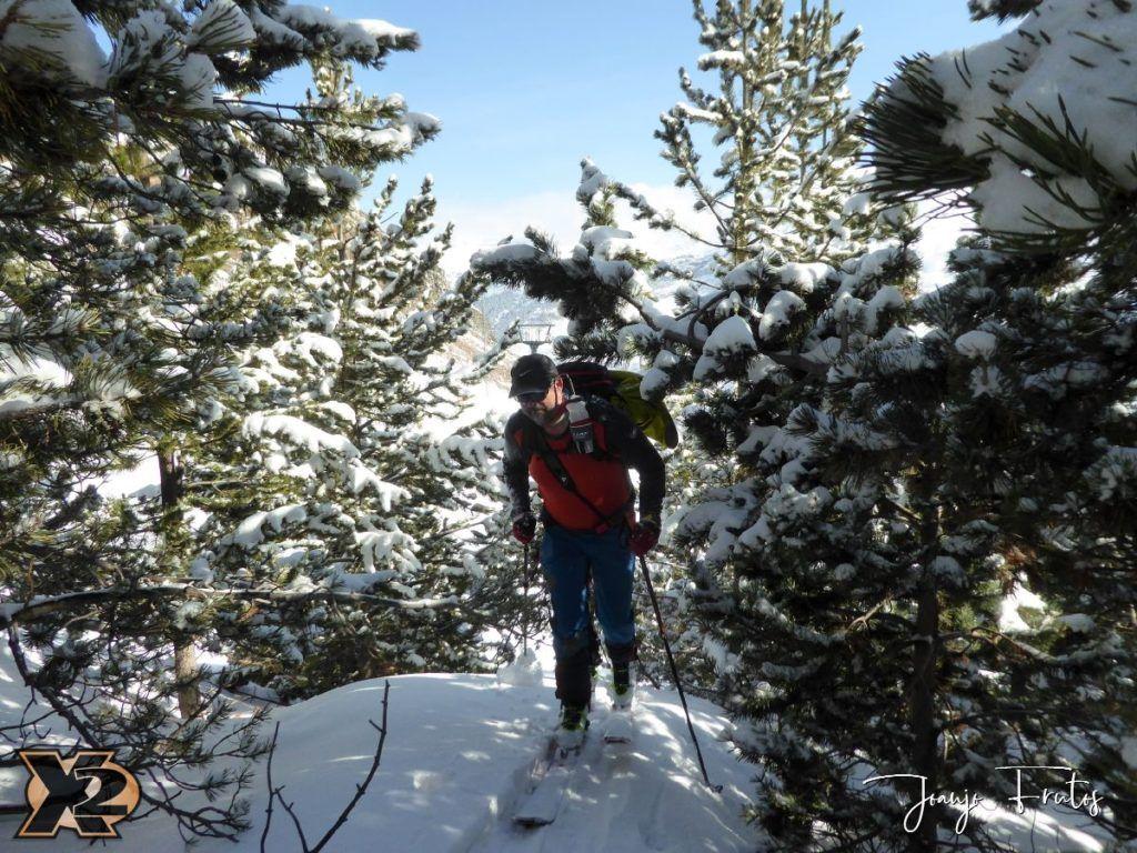 P1370810 1024x768 - Disfrutando la última nevada de Cerler