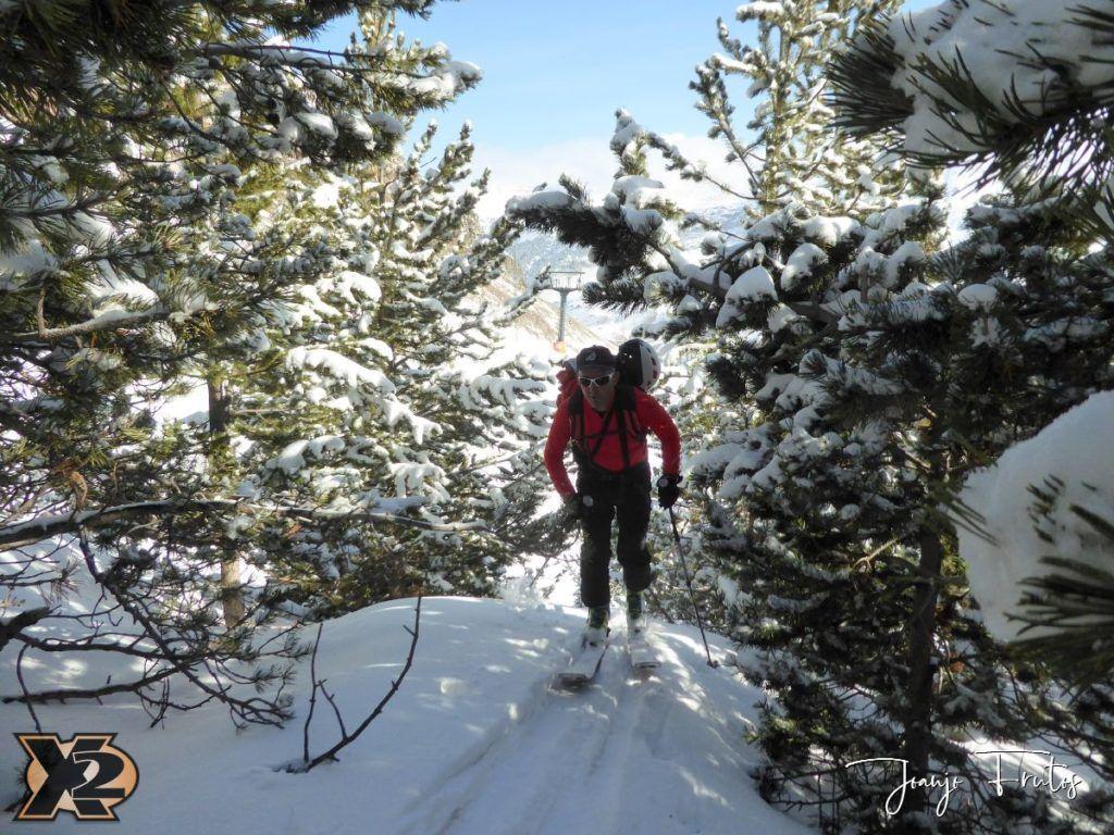 P1370812 1024x768 - Disfrutando la última nevada de Cerler