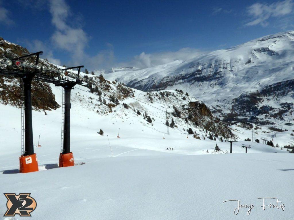P1370814 1024x768 - Disfrutando la última nevada de Cerler