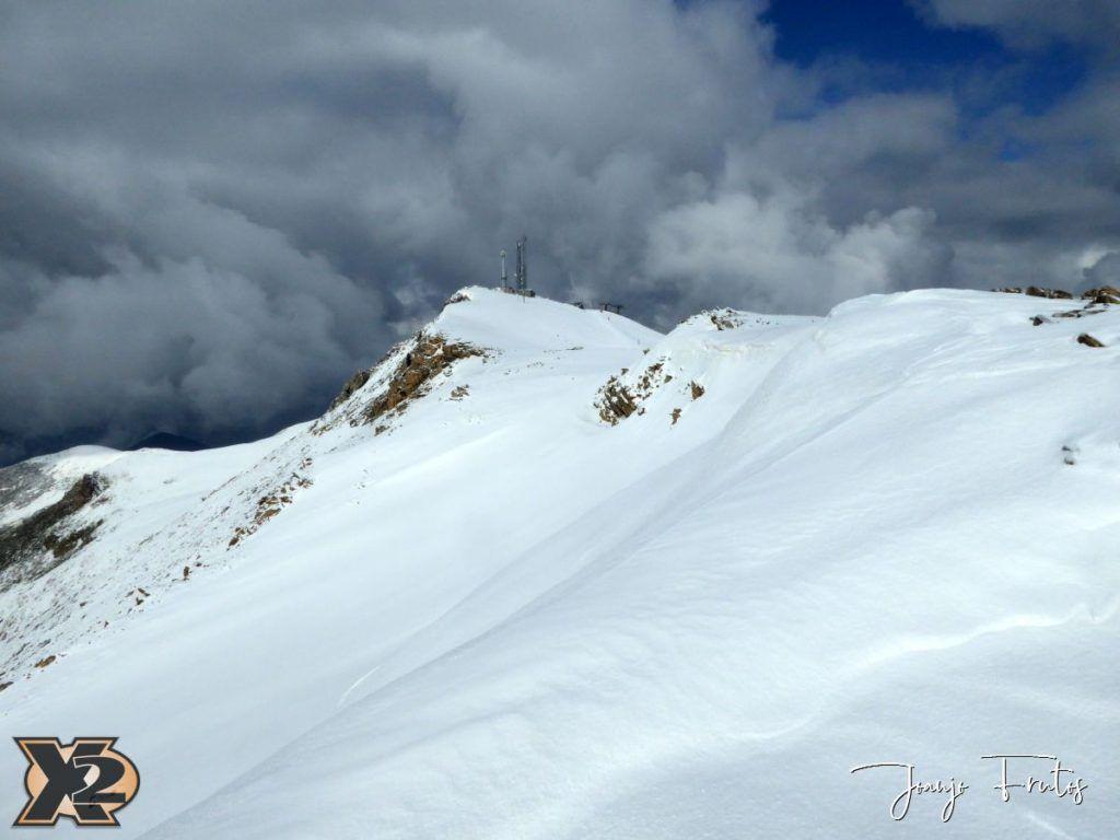 P1370822 1024x768 - Disfrutando la última nevada de Cerler