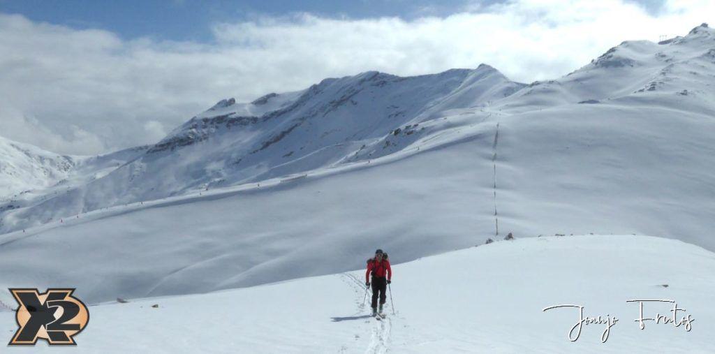P1370823 1024x507 - Disfrutando la última nevada de Cerler