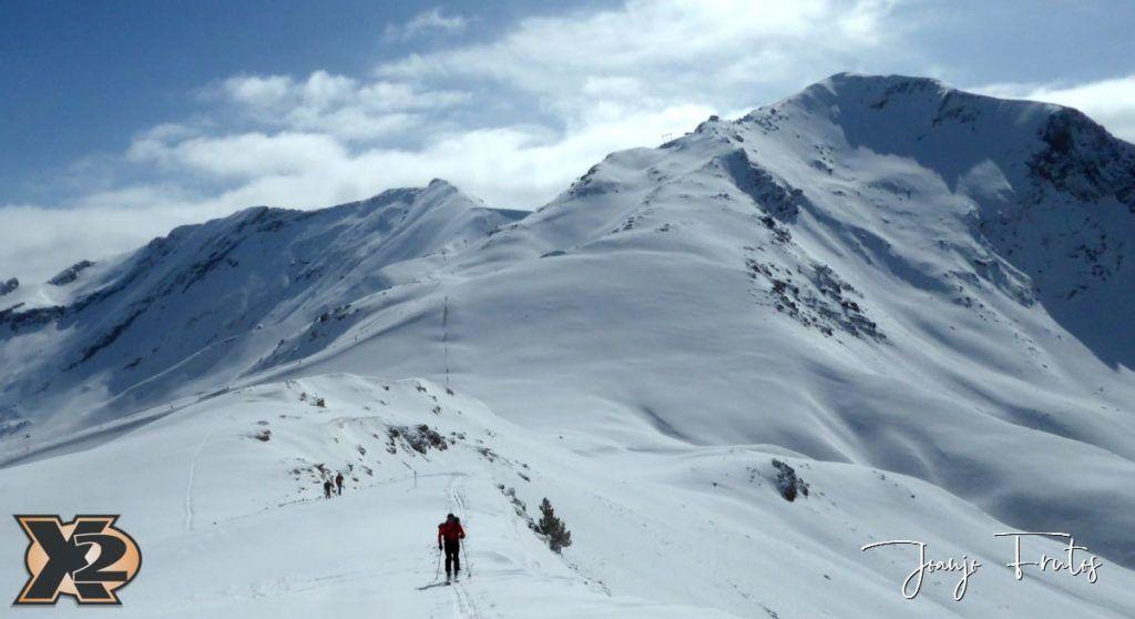 P1370825 1024x558 - Disfrutando la última nevada de Cerler