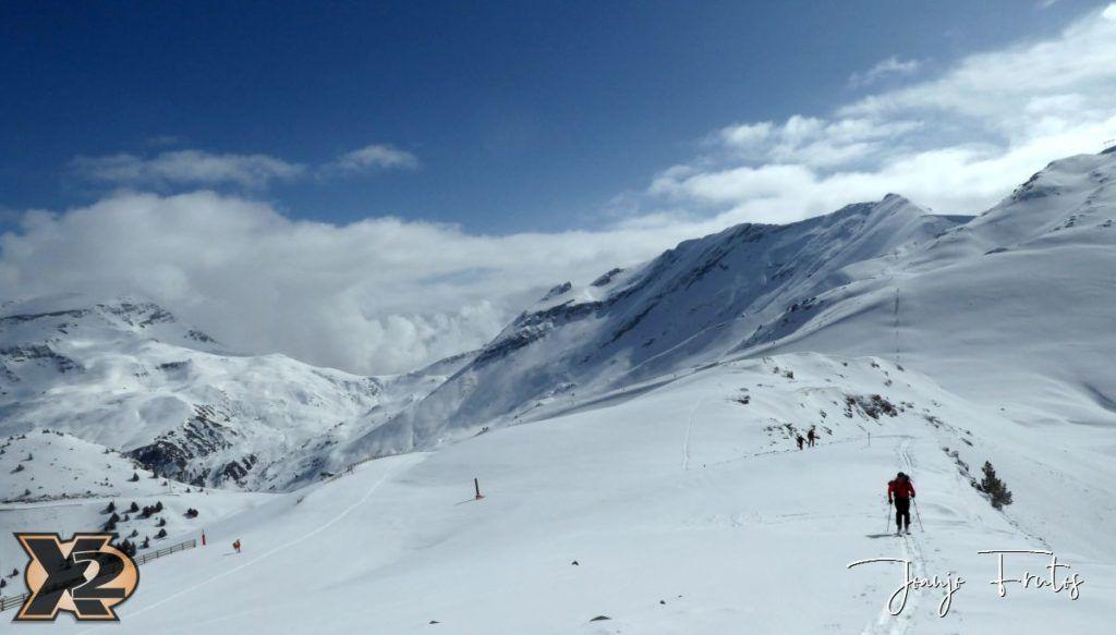 P1370827 1024x583 - Disfrutando la última nevada de Cerler