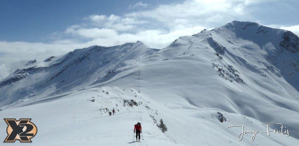 P1370828 1024x500 - Disfrutando la última nevada de Cerler
