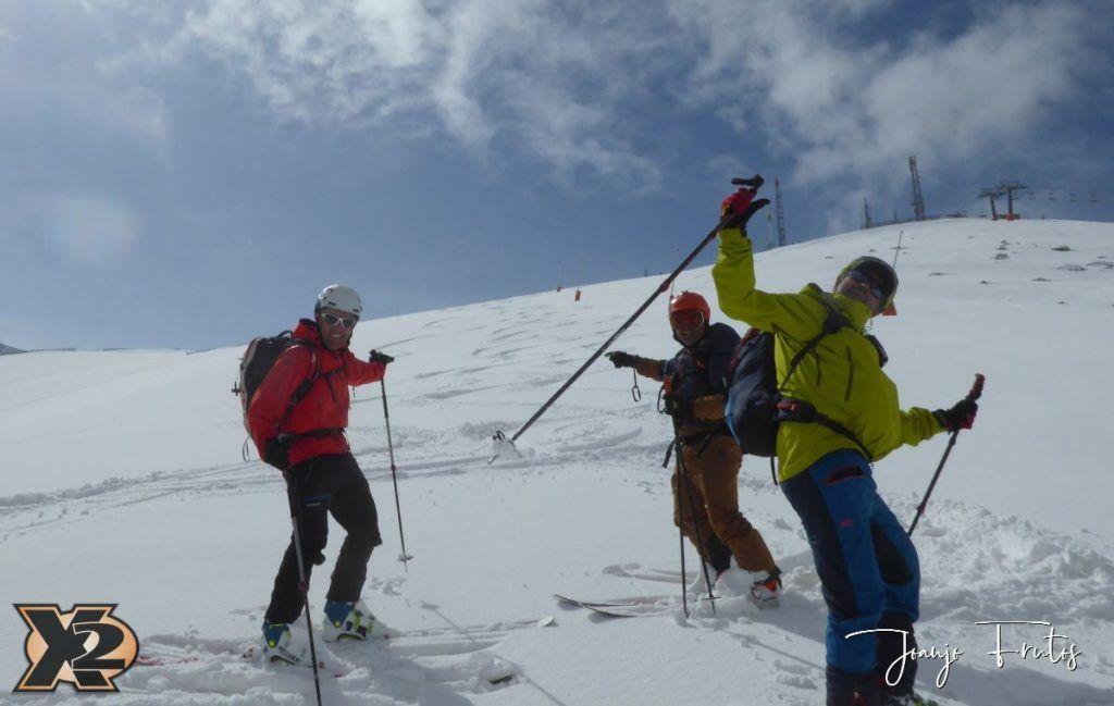 P1370842 1024x649 - Disfrutando la última nevada de Cerler