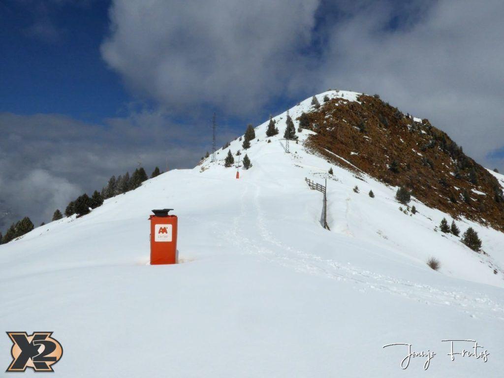 P1370847 1024x768 - Disfrutando la última nevada de Cerler