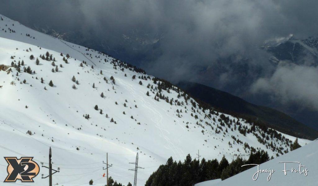 P1370850 1024x601 - Disfrutando la última nevada de Cerler