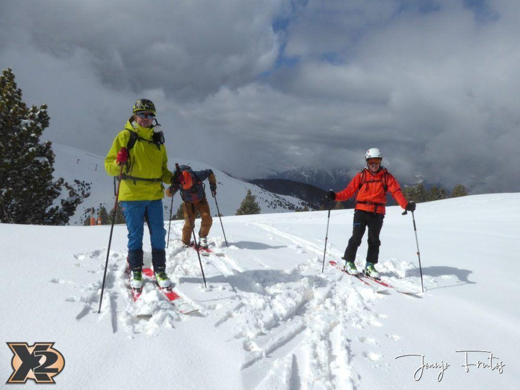 P1370851 1024x768 - Disfrutando la última nevada de Cerler