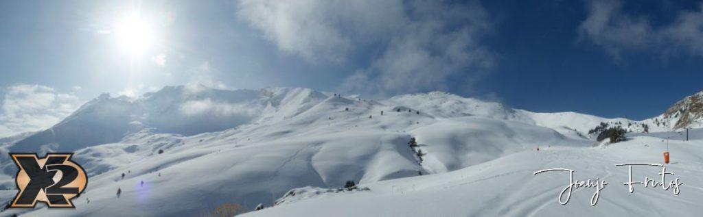 Panorama 2 1024x317 - Disfrutando la última nevada de Cerler