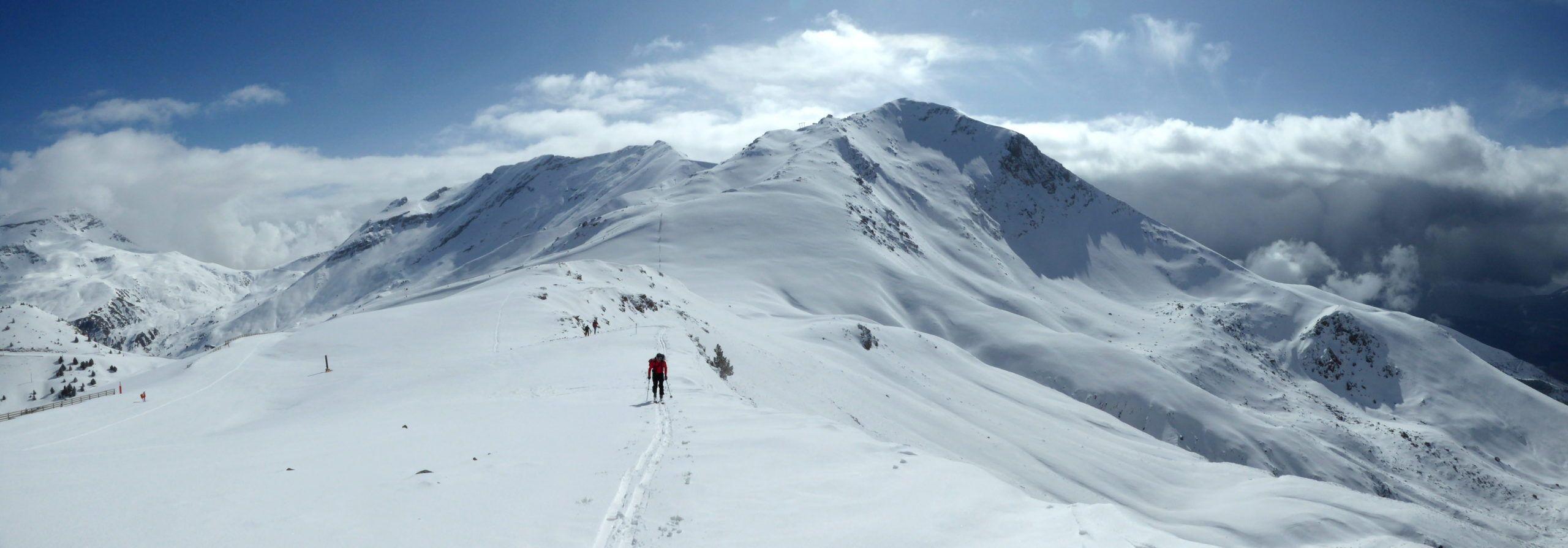 Disfrutando la última nevada de Cerler. Pico Cogulla