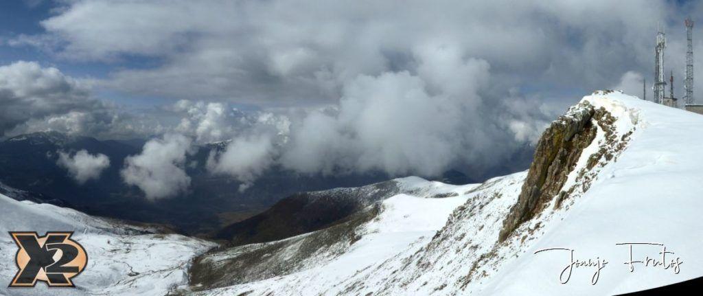 Panorama 5 1024x431 - Disfrutando la última nevada de Cerler