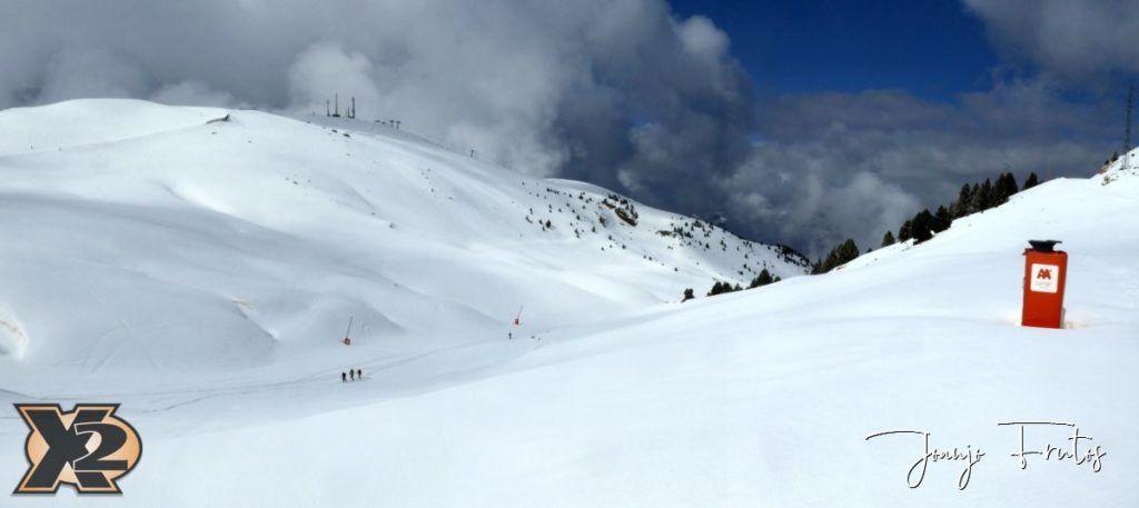 Panorama 7 1024x457 - Disfrutando la última nevada de Cerler